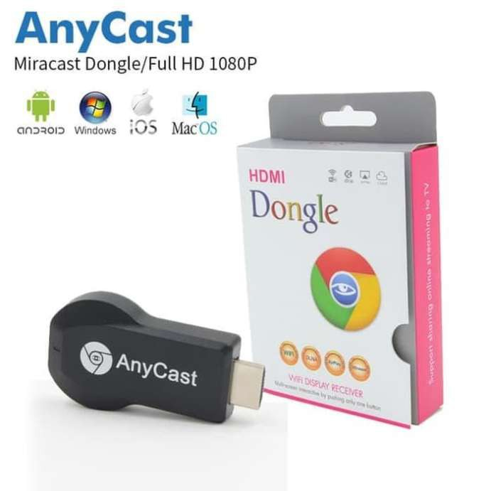[Bayar Di Tempat]1🔶Anycast Dongle HDMI Wireless Wifi / M2 / Miracast / Ezcast | Shopee Indonesia