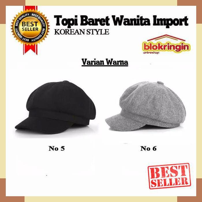 Kekinian Topi baret korea   camel   beret   mangaka   komikus   kosplay    wool  f9895a5cb2