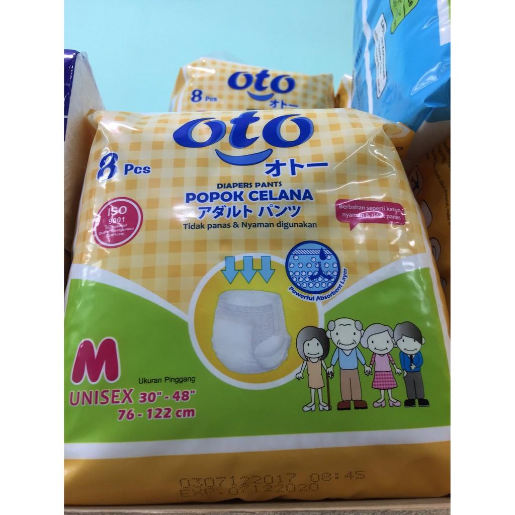 Adult Diaper Dr P M10 Special Popok Dewasa Orang Tua Oto L8 Celana Shopee Indonesia
