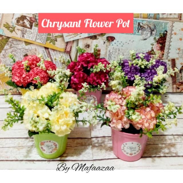 Bunga mawar plastik pot kayu vas kayu wooden vase wooden pot bunga plastik  dekorasi shabby vintage  cca1d486ef