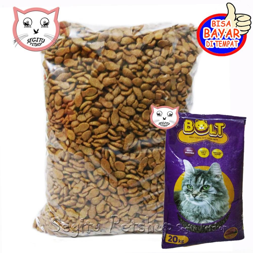 Makanan Kucing Bolt Tuna Repack 500 Gram Shopee Indonesia
