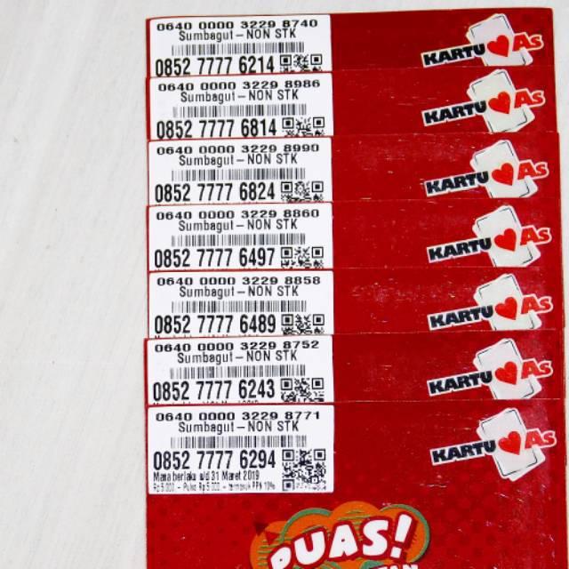 Nomor Cantik LOOP 4G LTE Kwartet Delapan Nocan TELKOSEL PULSA 2RB Kartu Perdana Murah 8888 5232
