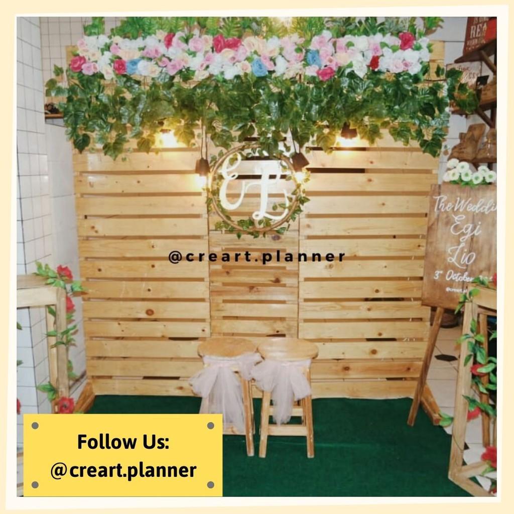 Backdrop Lamaran/ Dekorasi Lamaran /Dekorasi Pernikahan 14