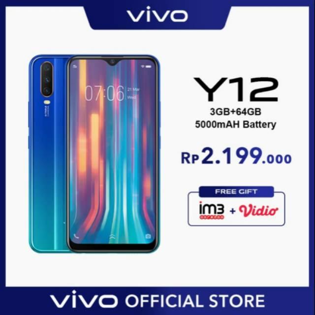 VIVO Y12 - 3/64 GB ( Garansi Resmi)