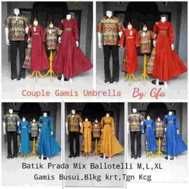 Grosir Batik Couple Prada elegan Good Quality 470  e060eefb40