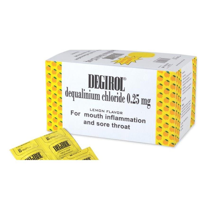 DEGIROL Strip Isi 10 tablet hisap Obat Radang