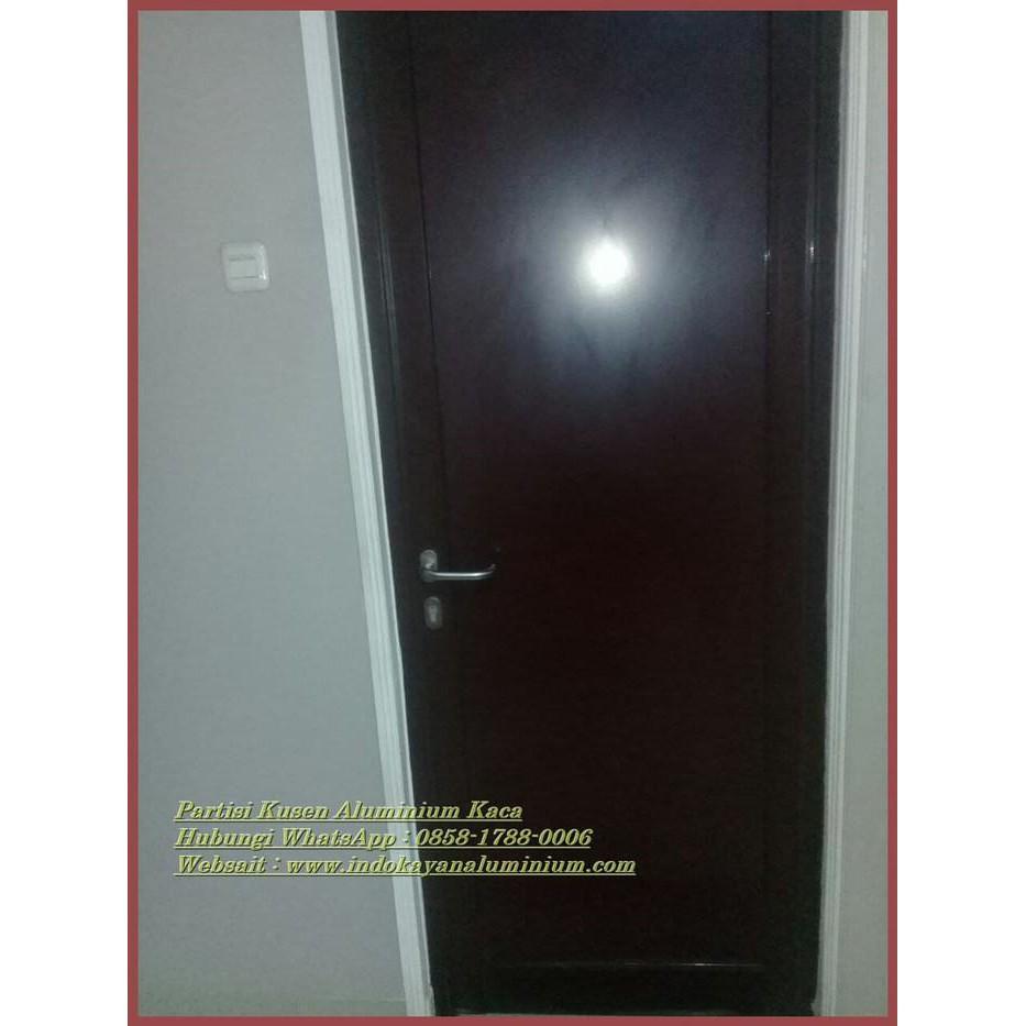 Jual Pintu Aluminium ACP Ukuran Standar 210 x 80 Bahan Panel ACP pe