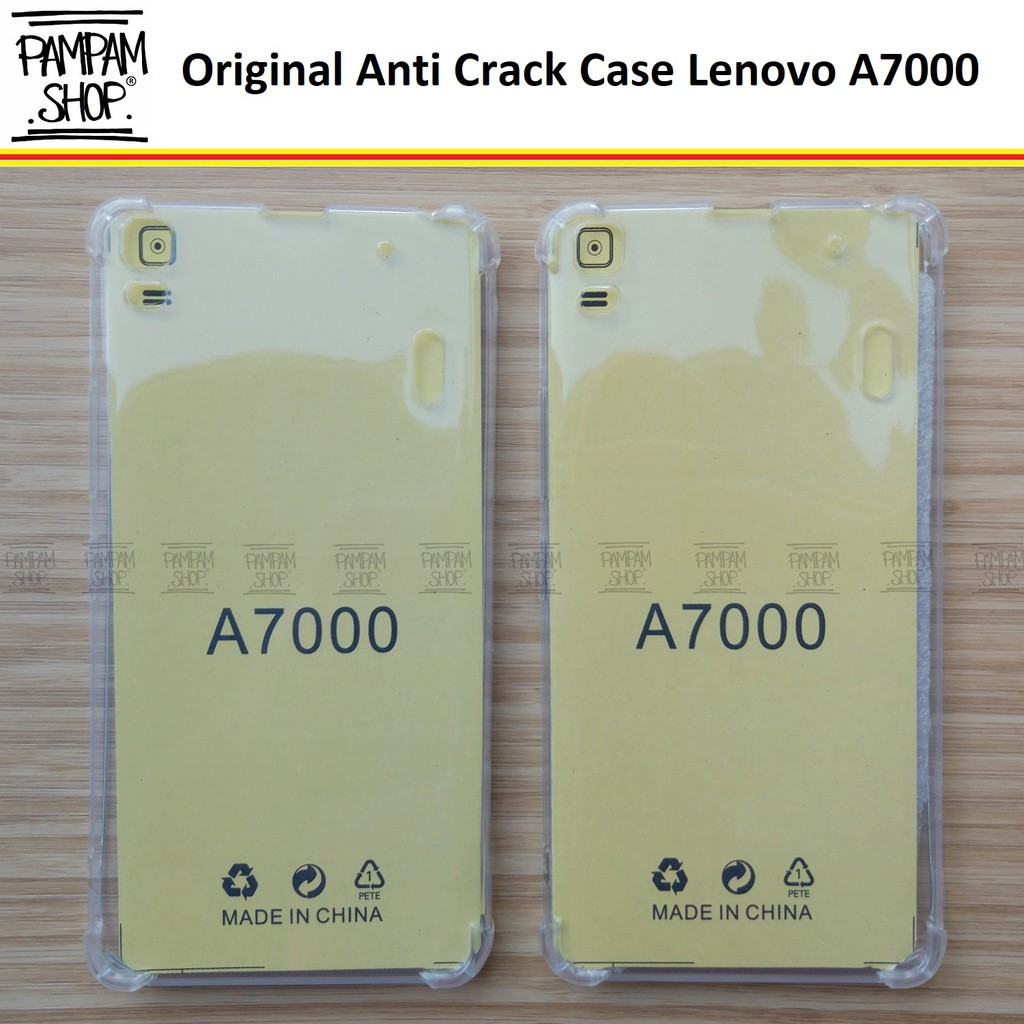 Case TPU Anti Crack Lenovo A7000 Ultrathin Anticrack Ultra Thin Transparan Fuze Soft A 7000 Benturan | Shopee Indonesia