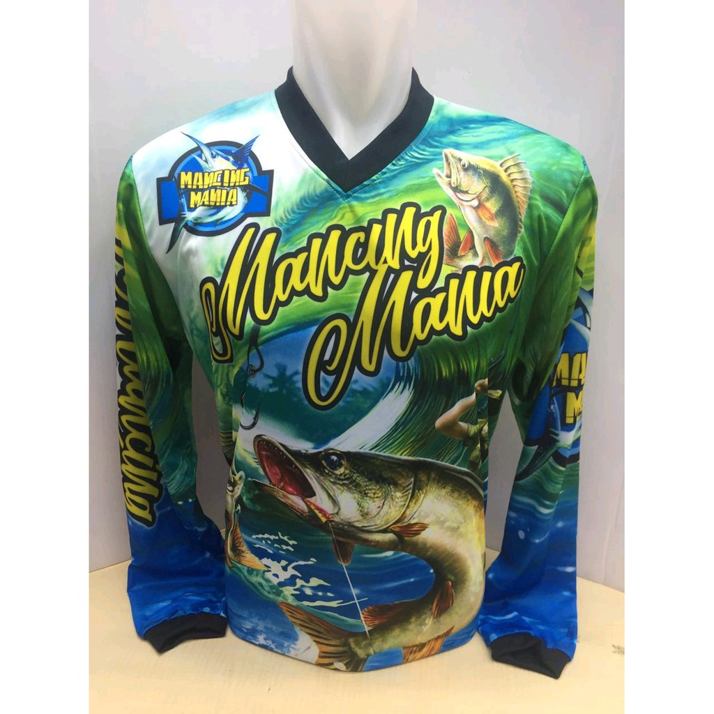 Baju Kaos Mancing Mania Pemancing Shopee Indonesia Mantaaappp