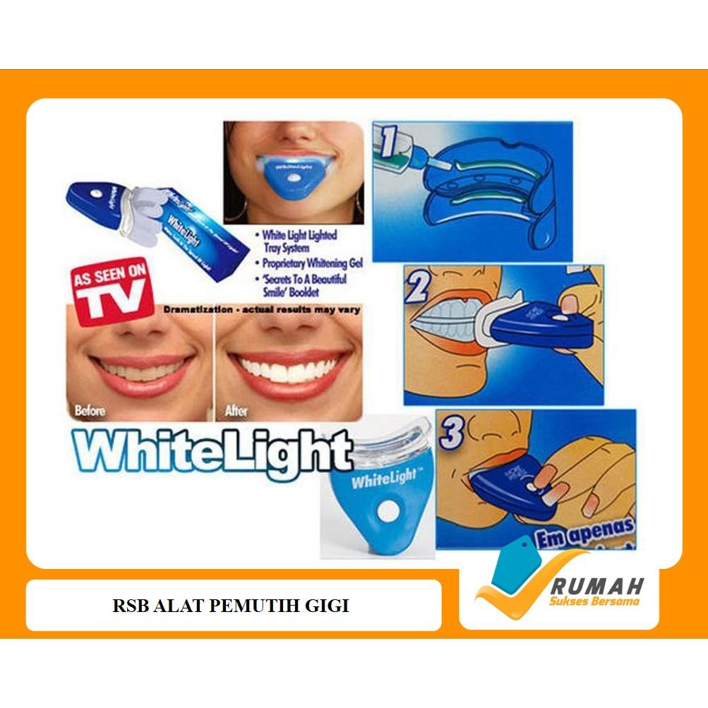 White Light Original Usa Pemutih Gigi Instant No 1 Disarankan dokter -  KPL-92 (WL)  b4f08107c5
