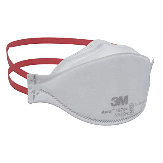 Respirator Mask Surgical N95 And 1870 Pcs Particulate Aura 3m 1