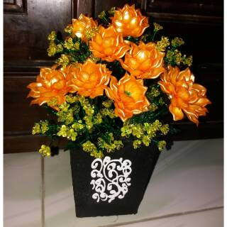 Bunga Acrilik Ukuran Besar Asli Original Shopee Indonesia