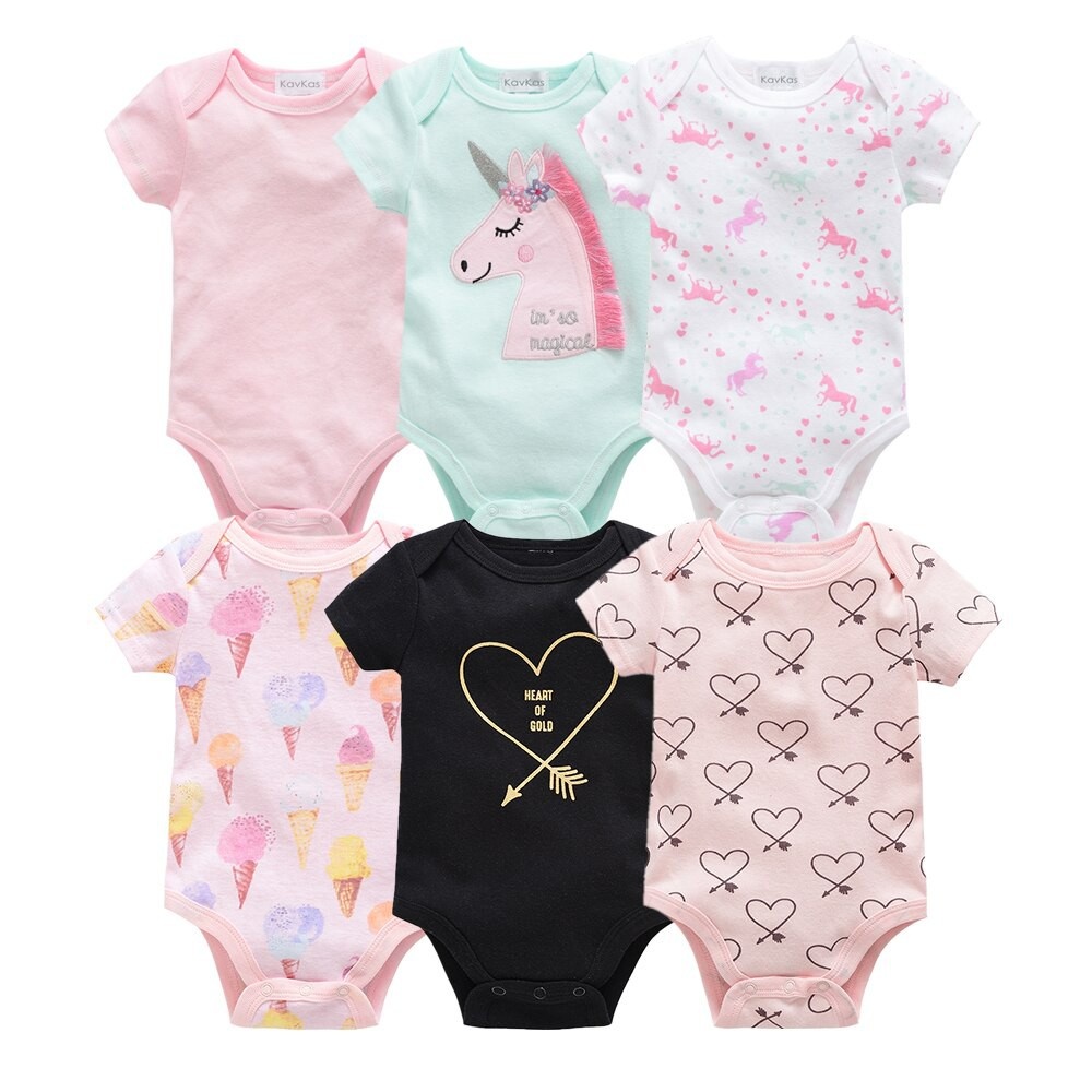 Newborn Baby Girl Summer Romper Bodysuit Jumpsuit Playsuit Clothes Outfits 1-5Y