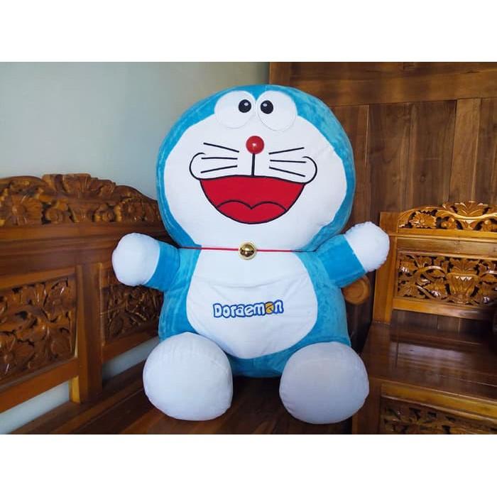 Boneka Doraemon Jumbo Besar 90 Cm Sni Gratis Bungkus Kado Terbaru Shopee Indonesia
