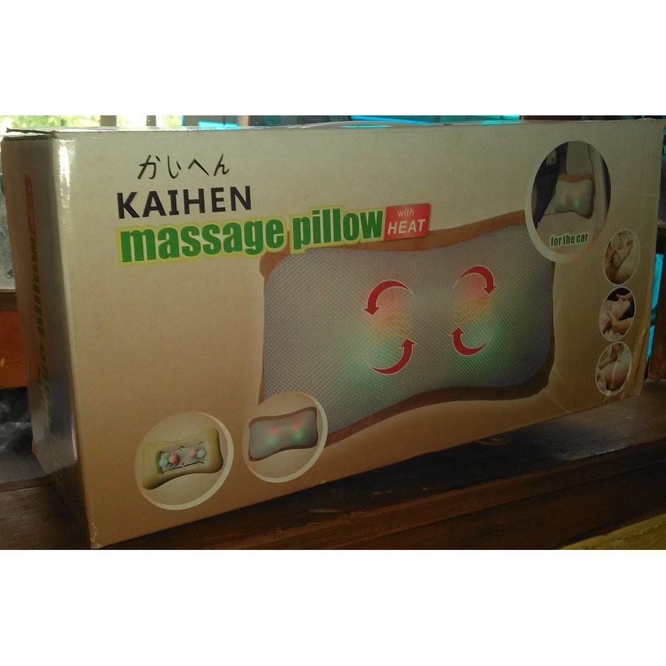 Bayar Di Tempatfg 8 Rol Bantal Pijat Deep Kneading Untuk Relaksasi Leher Neck Massage Cushion Kaihen Shopee Indonesia
