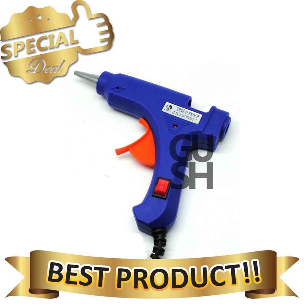 Mawar88shop New Tembakan Lem Besar Glue Gun 40w Spec Dan Daftar Tembak Bakar Atau 10 Watt Junior Fanilashop Elektrik Pengeliman Tebak Pistol
