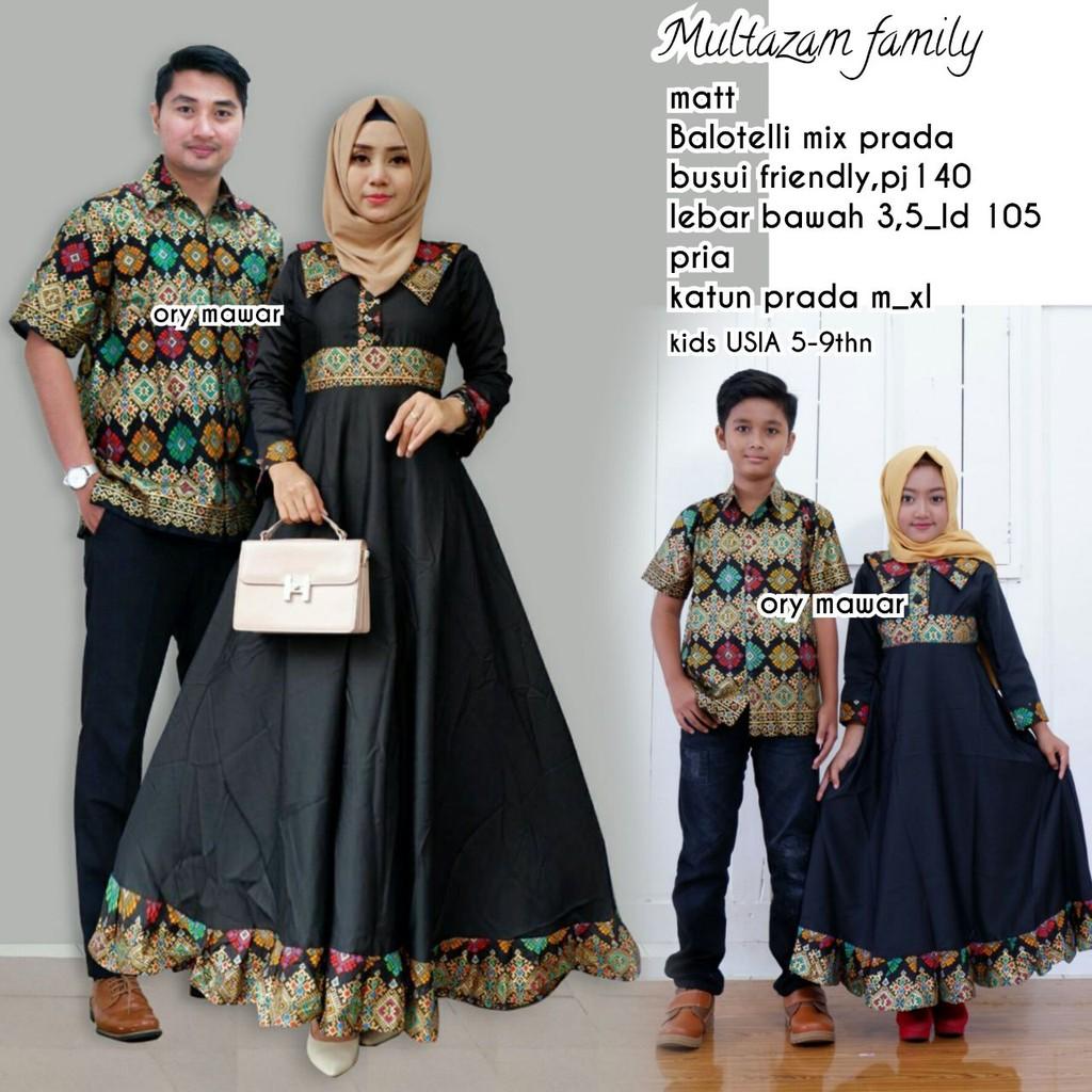 Zola_Batik Batik Couple Sarimbit Keluarga Multazam