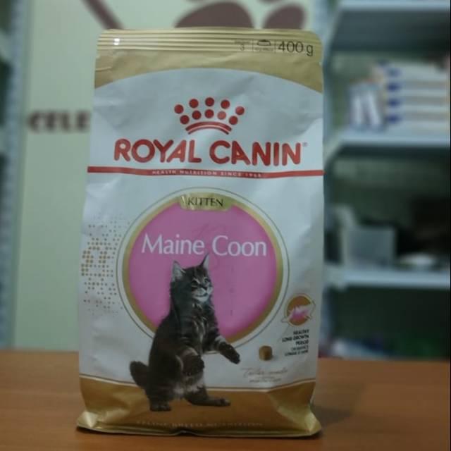 Royal Canin Maine Coon Kitten 400 Gram Shopee Indonesia