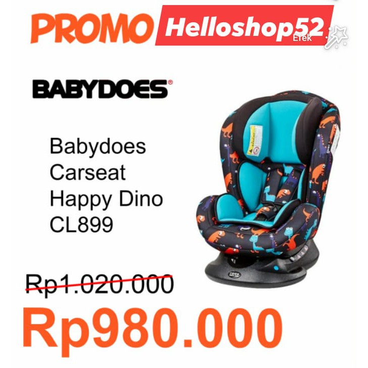 Dino Car Seat >> Babydoes Happy Dino Lc899 W Car Seat