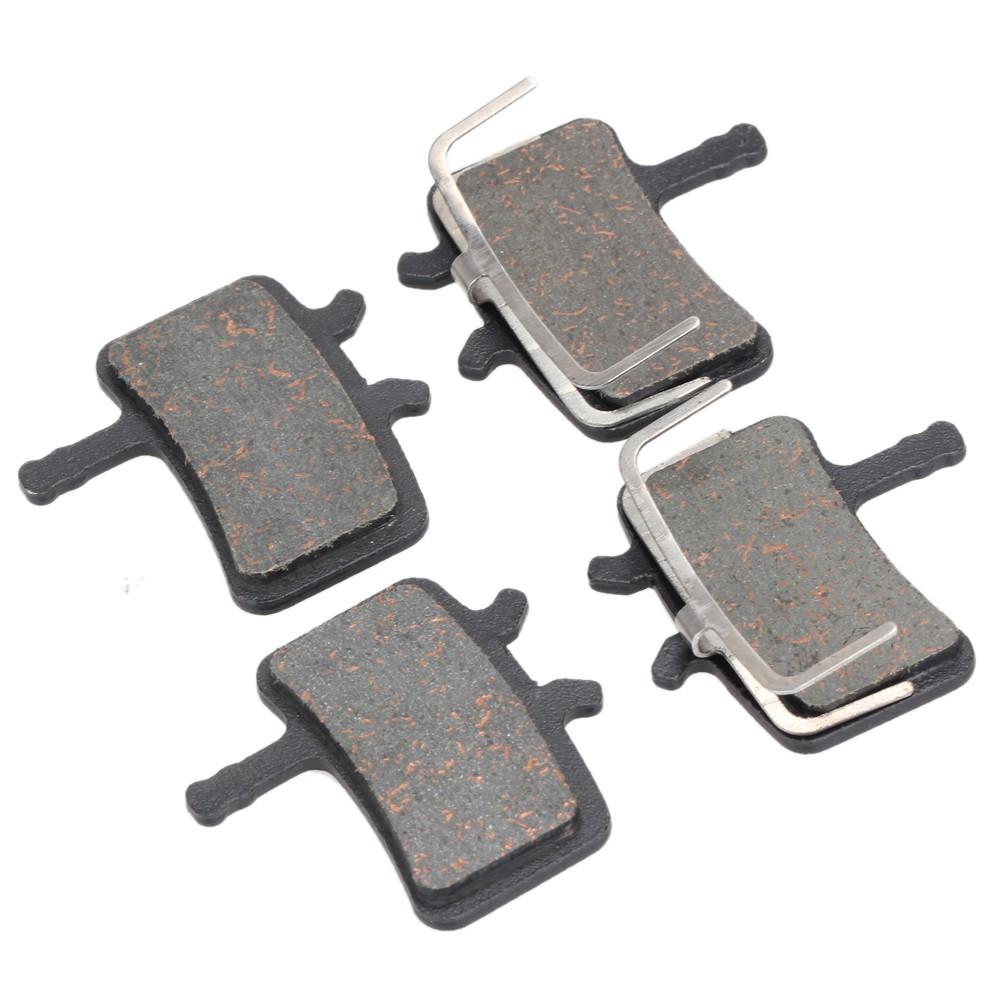 4 Pairs Mountain Bike Resin Disc Brake Pads For AVID BB5 MTB Semi Metallic