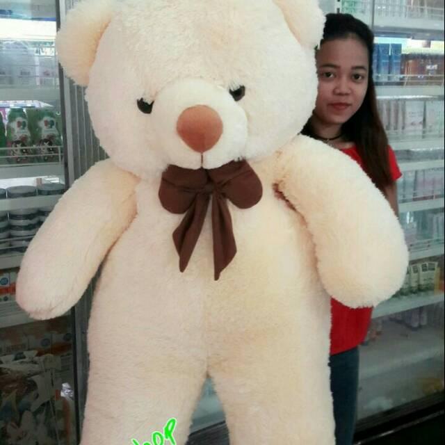 Boneka Teddy bear size big giant jumbo 105cm b28ce93258