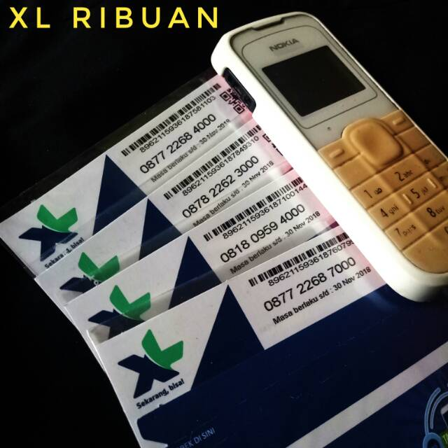 Kartu XL Cantik Rapih Nomor Triple 333 Murah Perdana