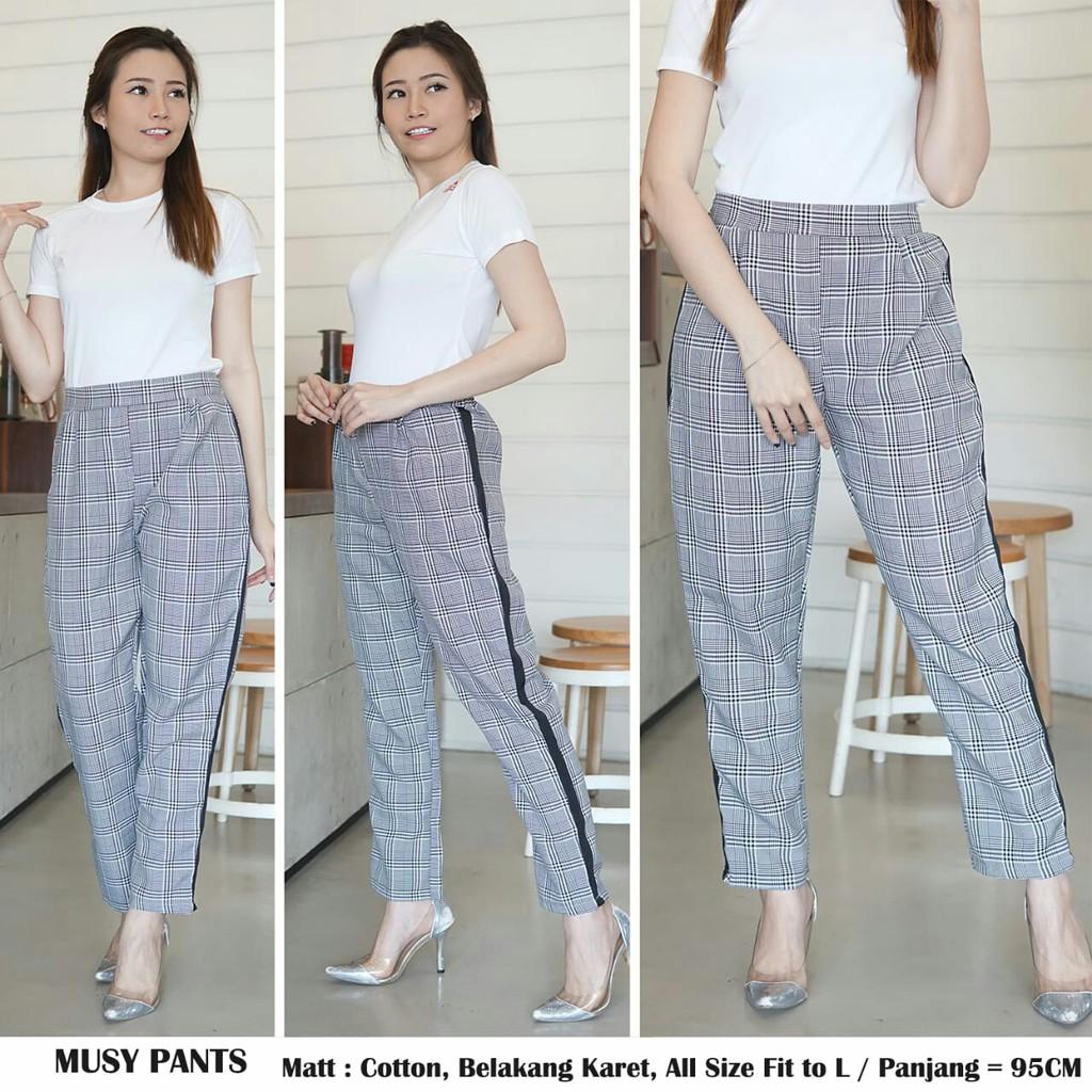 Celana Wanita Temukan Harga Dan Penawaran Online Terbaik Rok Jeans 7 8 Drakblue Jsk5012 Allsize Desember 2018 Shopee Indonesia