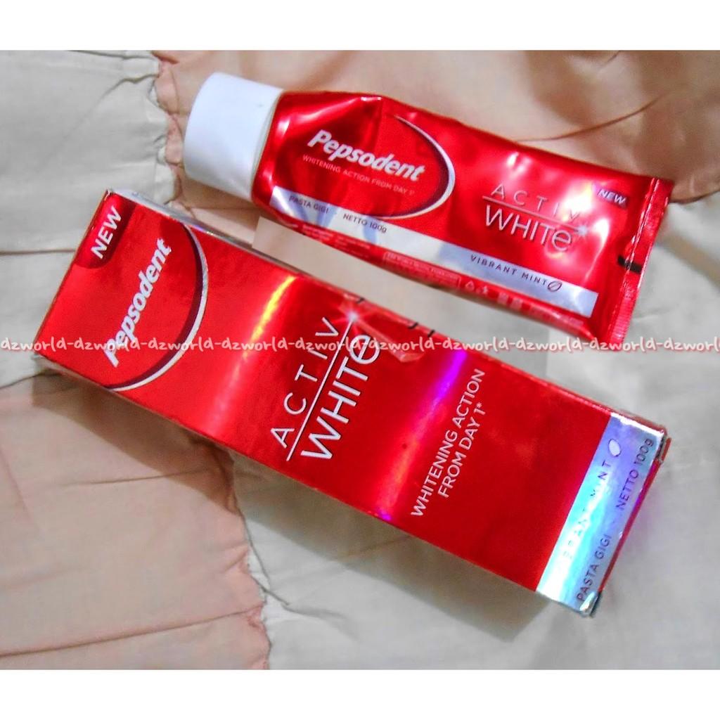Odol Pepsodent Activ White Pasta Gigi Active 100ml Colgate Sensitive Gum Protection Toothpaste 120g Shopee Indonesia