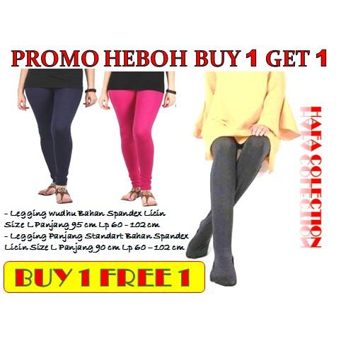 Beli 1 Gratis 1 Legging Wudhu Legging Wudhu Gratis Celana Legging Panjang Standart Shopee Indonesia