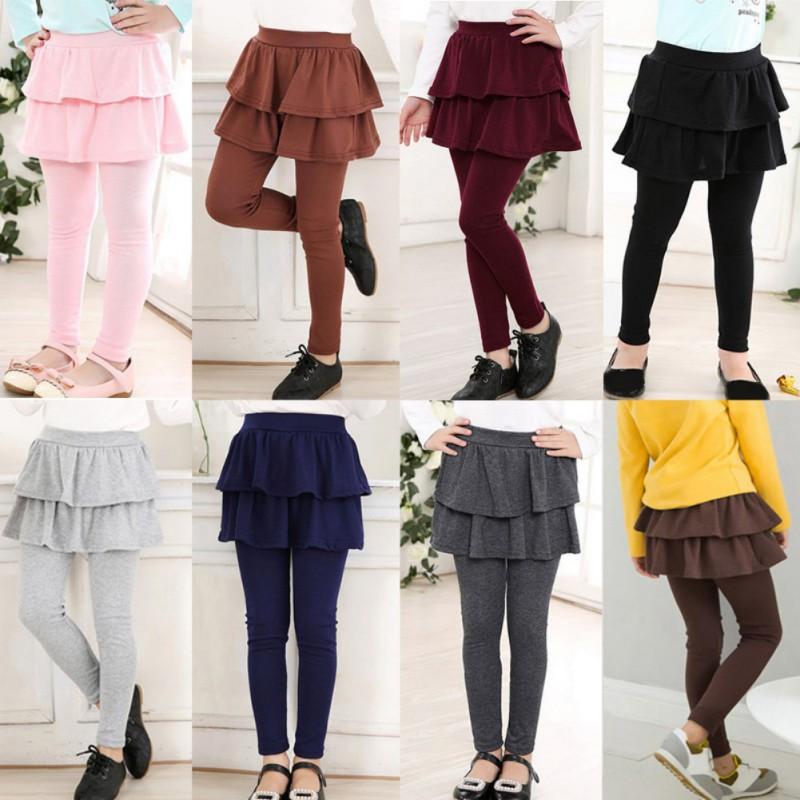 Celana Legging Model Rok Tutu Ruffle Elastis Untuk Anak Perempuan 3 11 Tahun Shopee Indonesia