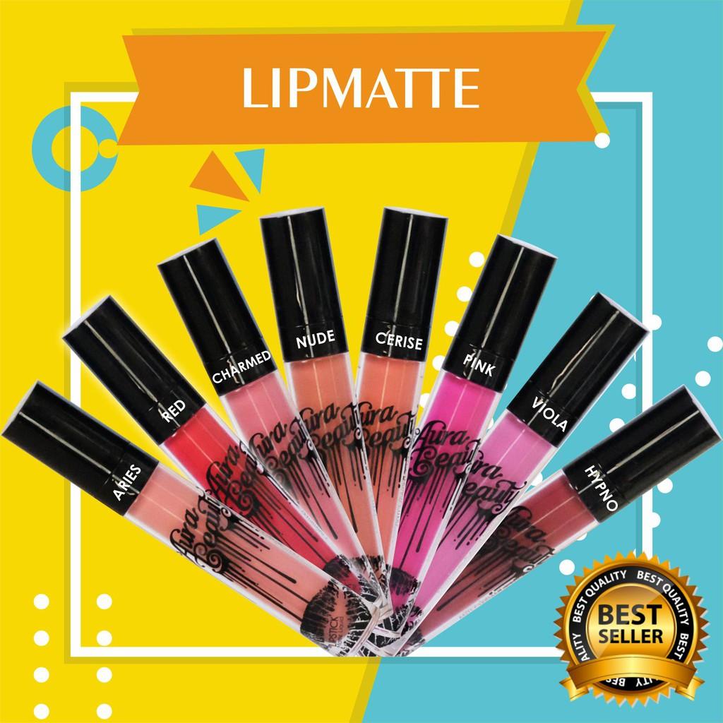 Promo Diskon Lipstik Matte Terlaris No1 Shopee Waterproof Warna Aura Beauty Lipmatte Aries Best Seller Lipstick Tahan Lama Anti Retaktdk Kering Indonesia