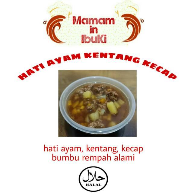 Hati Ayam Kentang Kecap Mpasi Bayi Frozen Beku Shopee Indonesia