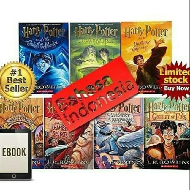 paket buku harry potter lengkap 15 judul pdf  shopee