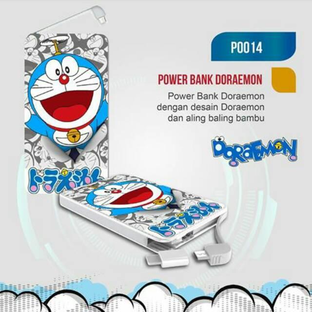 powerbank doraemon - Temukan Harga dan Penawaran Powerbank & Baterai Online Terbaik - Handphone & Aksesoris Februari 2019 | Shopee Indonesia