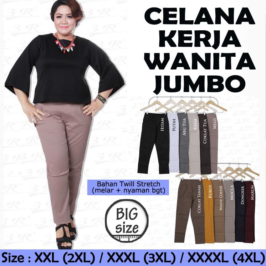 Jual Beli Produk Big Size Pants - Celana  7a97875d3a