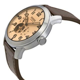 Jam Tangan Pria Original FOSSIL ME3119 Pilot 54 Silver Dial Brown Keren. suka: 0