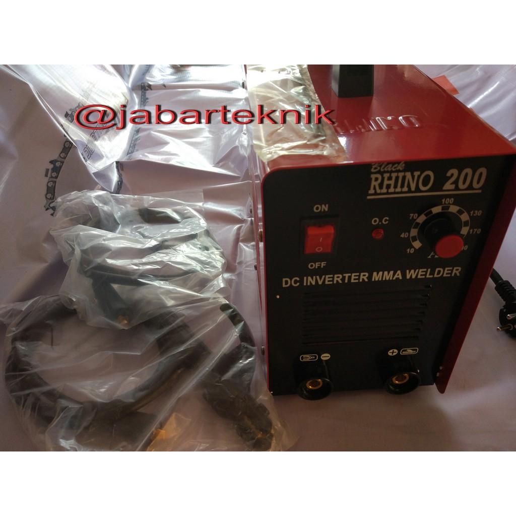 Rhino Mesin Trafo Las Inverter 125a Daftar Harga Penjualan Terbaik Arc 160 Riland Mma Diskon Black