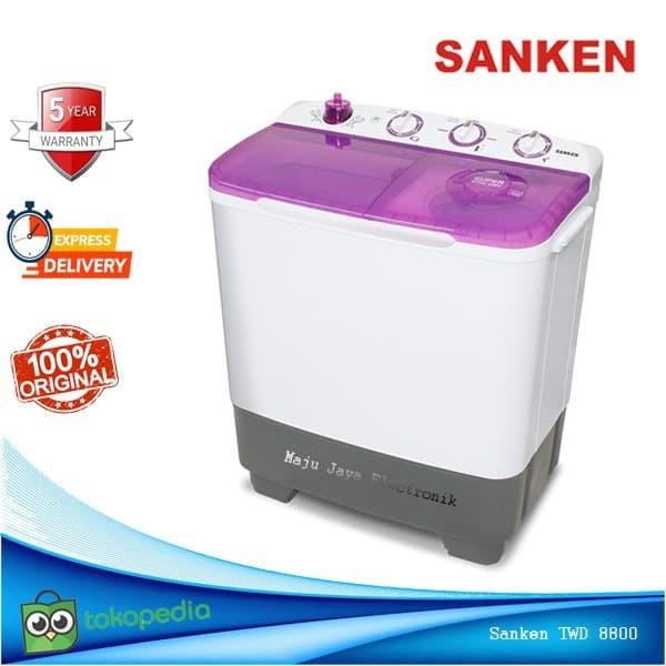Mesin Cuci 2 Tabung Sanken TW 8700 8Kg