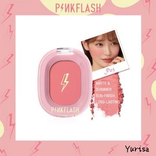 Pinkflash Ohmykiss Blush On Powder Kosmetik Makeup 9 Warna thumbnail