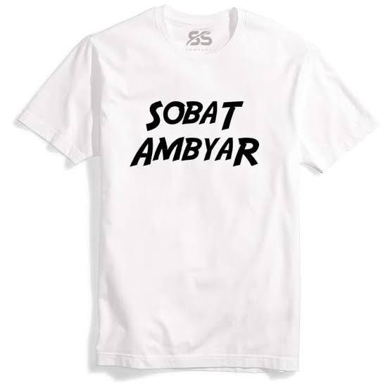 Premium Baju Tshirt Sobat Ambyar Didi Kempot Kualitas Premium
