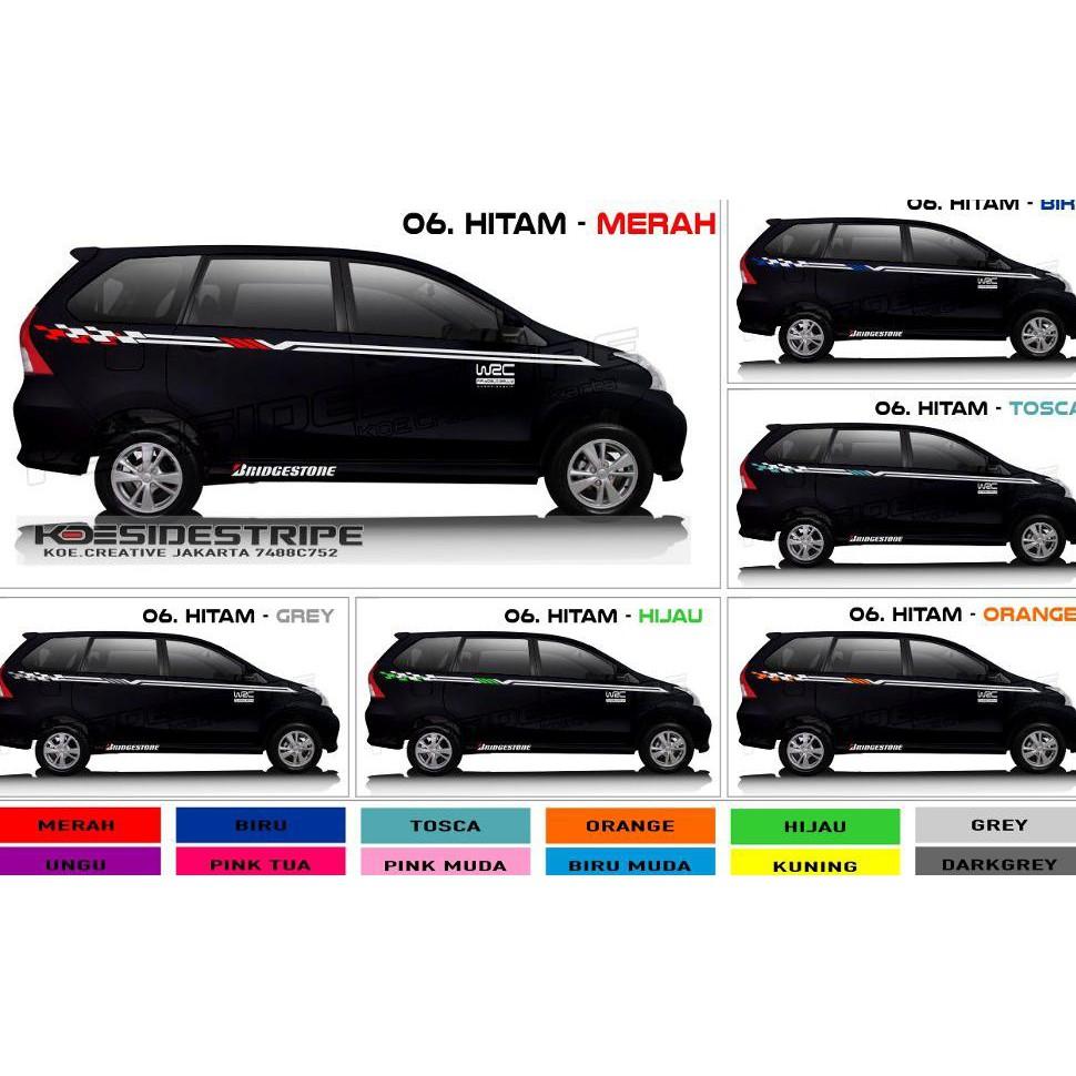 Kumpulan Koleksi Gambar Stiker Mobil Avanza Hitam HD Terbaru
