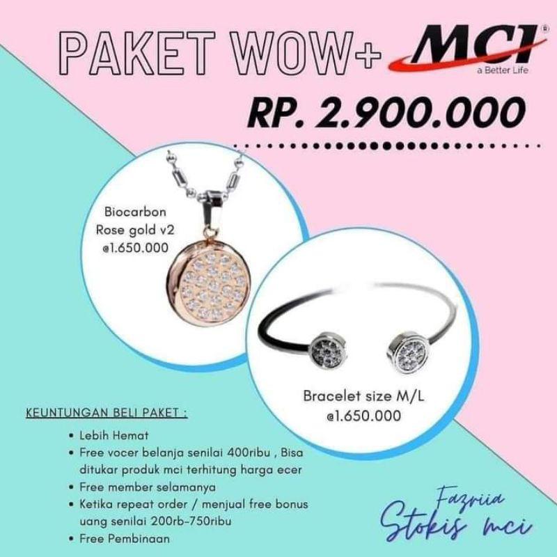 paket promo MCI-kalung MCI-Gelang MCI- kalung kesehatan(100% ORIGINAL)
