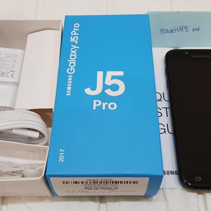 [Handphone Second] HP Samsung Galaxy J5 Pro 3/32gb 2nd Garansi Resmi SEIN - Variasi A HP Bekas
