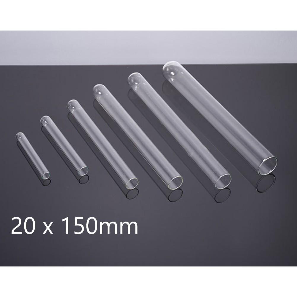 Glass Test Tube / Tabung Reaksi Kaca Tanpa Skala 20 x 150 mm