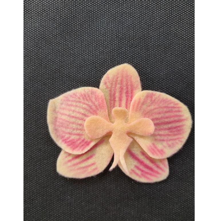 Stencil Orchid 3d Alat Bantu Mewarnai Bunga Flanel Paper Flowers Fondand Cake Anggrek Diy Art Shopee Indonesia