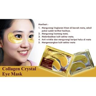 CRYSTAL COLLAGEN GOLD EYE MASK - Masker Kolagen untuk Kantong Mata Panda - Keriput Mata thumbnail
