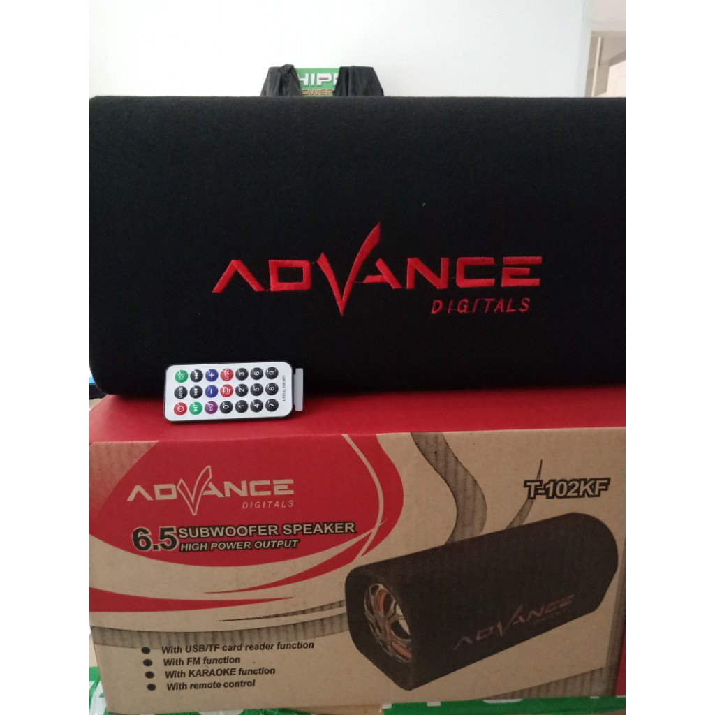 Diskon Speaker Advance Subwoofer T101 Kf 5 Inch T 101kf Guling Aktif Shopee Indonesia