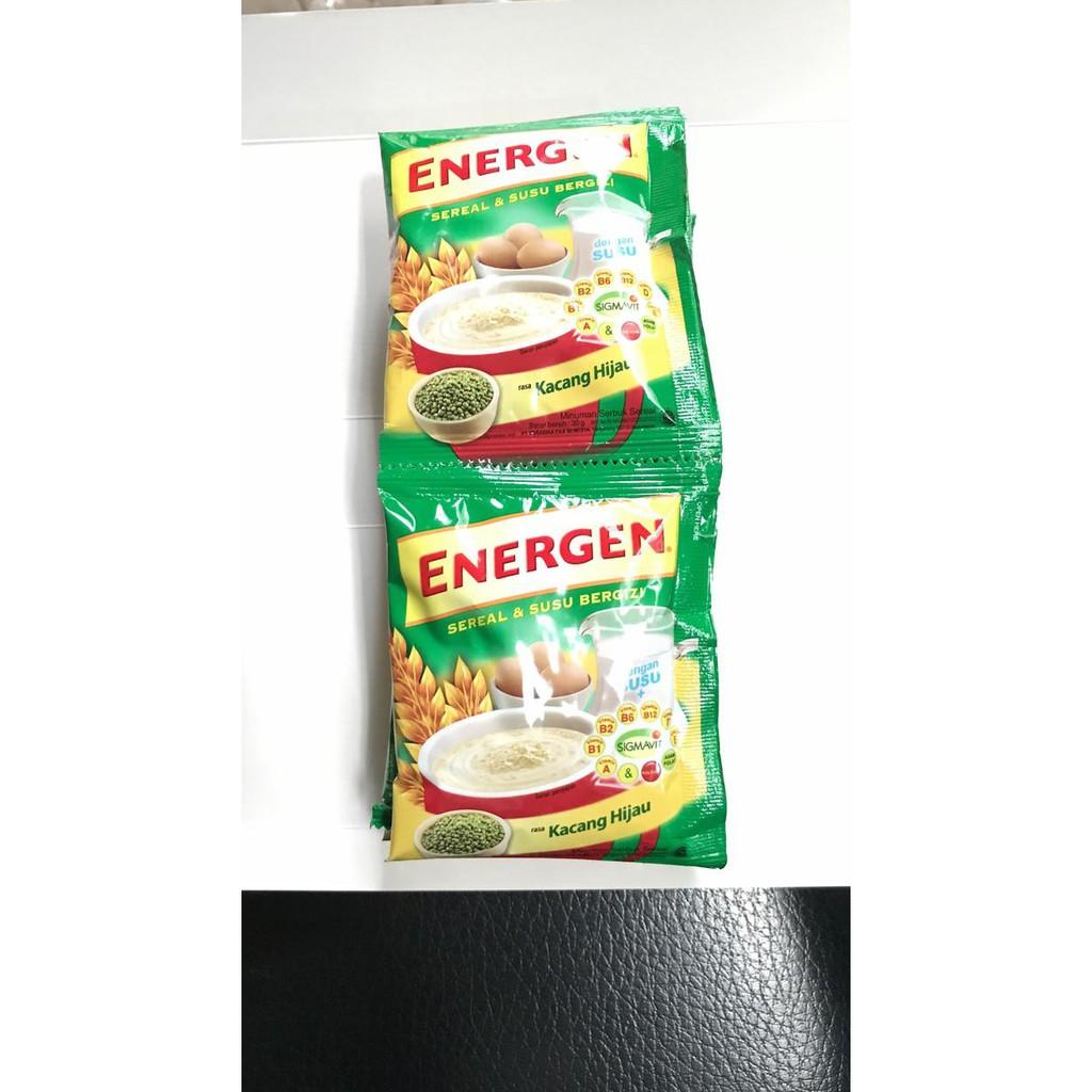 Energen Sereal Sachet Shopee Indonesia Nestum Bubur Multigrain 3in1 Polybag 4 X 32g Susu 2 Pcs