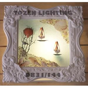 Lampu Dinding Kapur/Gypsum D831-144