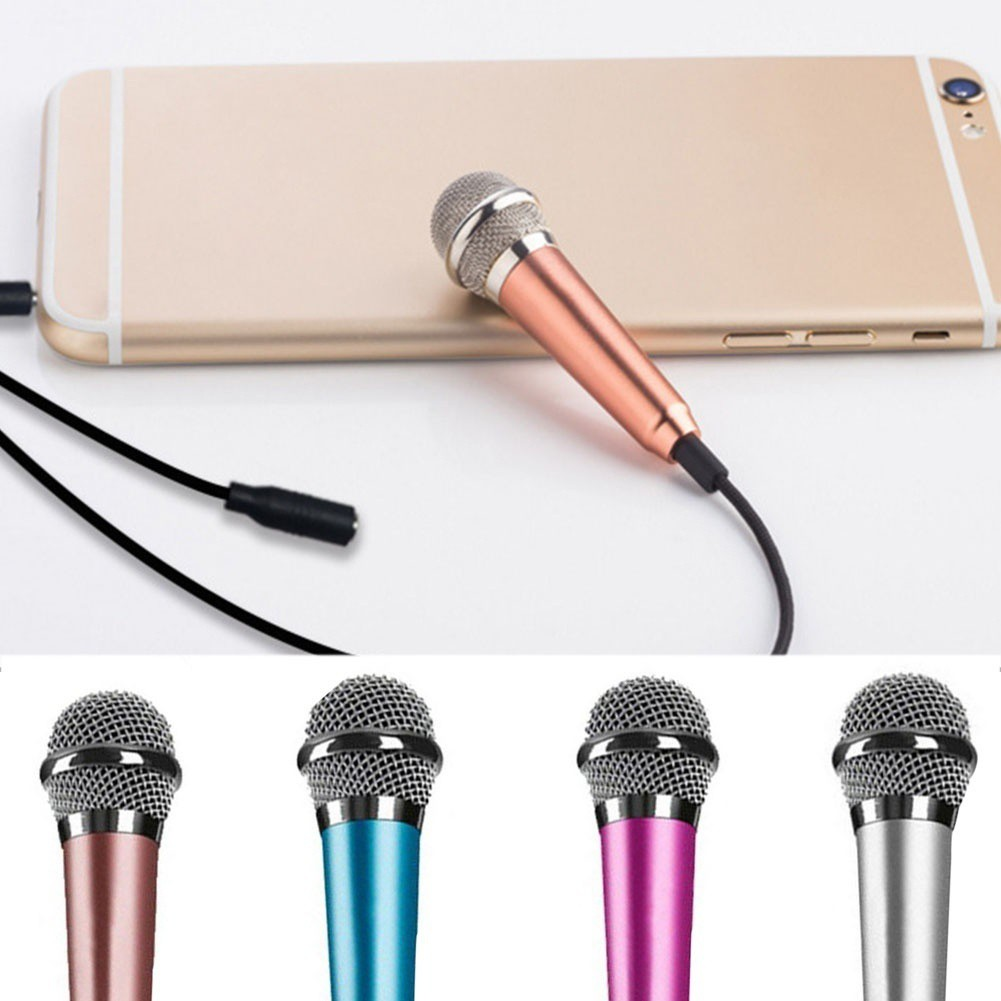Easy Life Twisted Rod Microphone Tablet PC 3.5mm Mini Microphone for Computer Notebook | Shopee